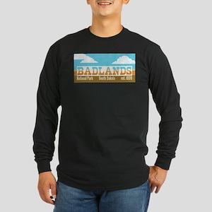 Badlands National Park Sky Long Sleeve T-Shirt