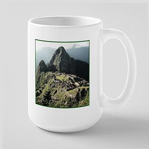 Machu Picchu Peru Large Mug