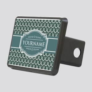Personalized Horseshoes Pa Rectangular Hitch Cover