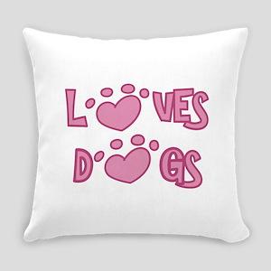 Adopt Animals Everyday Pillow