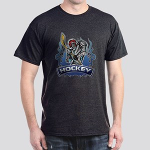 Fantasy Hockey Player Dark T-Shirt
