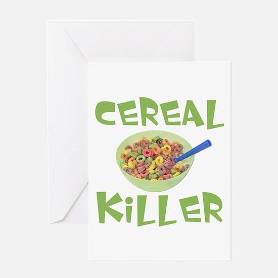 Cereal Killer Greeting Card