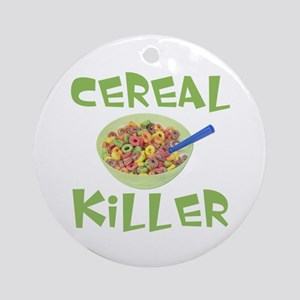 Cereal Killer Ornament (Round)