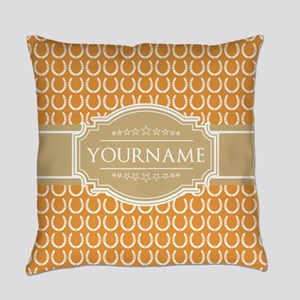 Personalized Horseshoes Pattern - Everyday Pillow