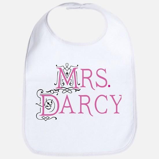 Mrs Darcy lrg mrspink Baby Bib