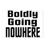 Boldly Going Nowhere Postcards (Package of 8)
