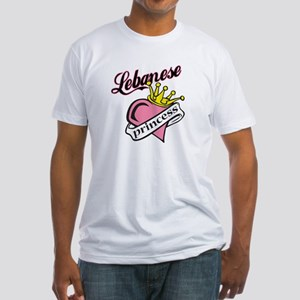 Lebanese Princess Fitted T-Shirt