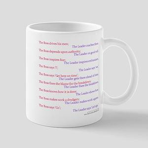 Boss vs Leader Mug