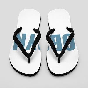 OBGYN - Blue Flip Flops