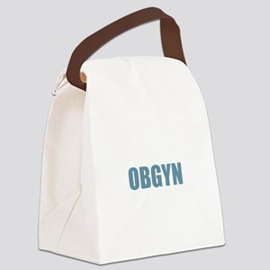OBGYN - Blue Canvas Lunch Bag