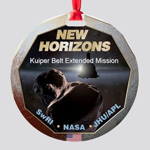 Extended Mission Logo Round Ornament
