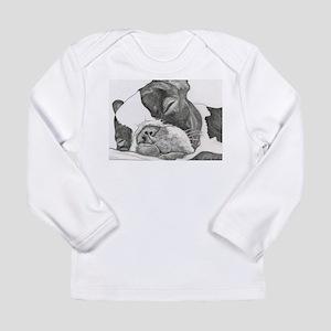 boston graphite Long Sleeve T-Shirt