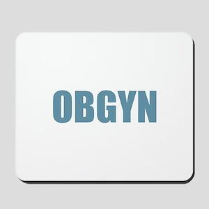OBGYN - Blue Mousepad