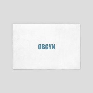 OBGYN - Blue 4' x 6' Rug