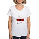 Yurt Hugger Women's V-Neck T-Shirt