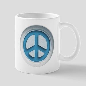 Carved Marble Peace Mug