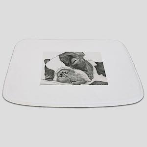 boston graphite Bathmat