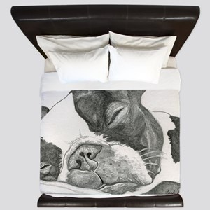 boston graphite King Duvet