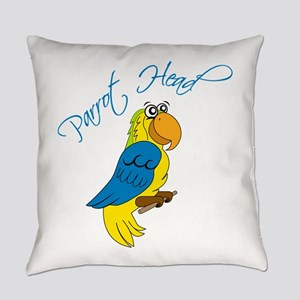 Parrot Head Everyday Pillow