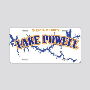 Lake Powell Aluminum License Plate