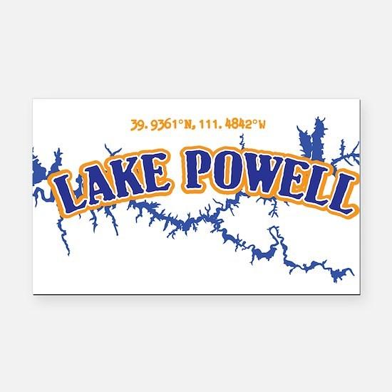 Lake Powell Rectangle Car Magnet