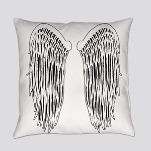 Wings (Lighter) Everyday Pillow