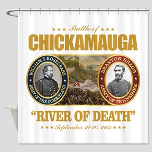 Chickamauga (FH2) Shower Curtain
