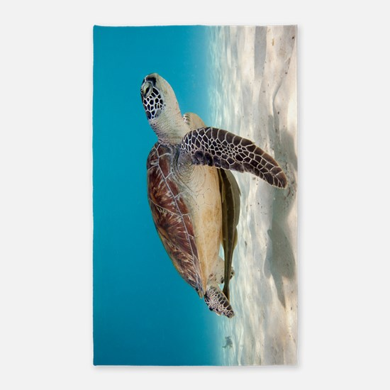 Sea Turtle Area Rug