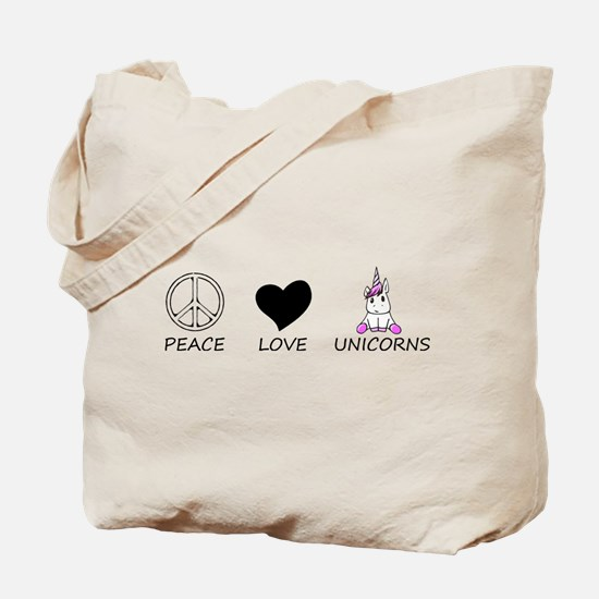 peace love Tote Bag