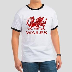cymru wales welsh cardiff dragon Ringer T