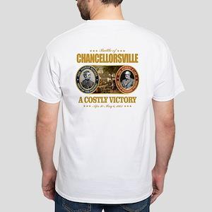 Chancellorsville (FH2) White T-Shirt