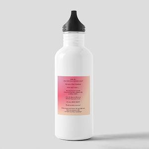I am Sissy Cumdump Water Bottle
