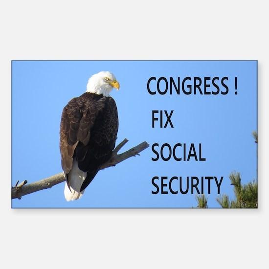Fix Social Security Decal