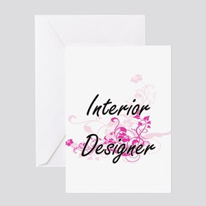 Interior Designer Artistic Job Desi Greeting Cards