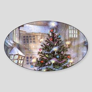 Vintage Christmas Sticker