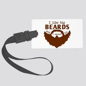 I Like Big Beards Luggage Tag