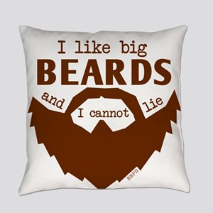 I Like Big Beards Everyday Pillow