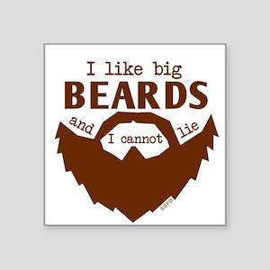 I Like Big Beards Sticker
