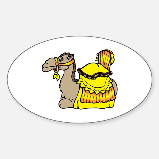 camel with yellow seat Stickers