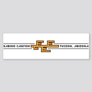 Sabino Canyon, TUCSON, ARIZONA Bumper Sticker