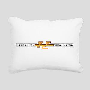 Sabino Canyon, TUCSON, A Rectangular Canvas Pillow