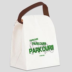 Realistic Parkour Style Canvas Lunch Bag