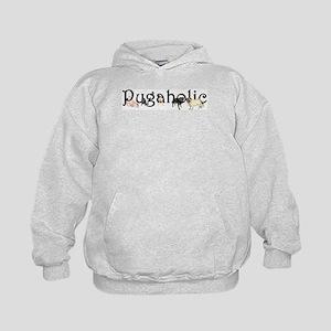 Pugaholic Kids Hoodie Sweatshirt
