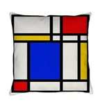 Mondrian-2b Everyday Pillow