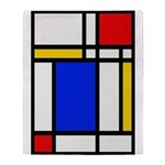 Mondrian-2b Throw Blanket