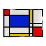 Mondrian-2b Pillow Case