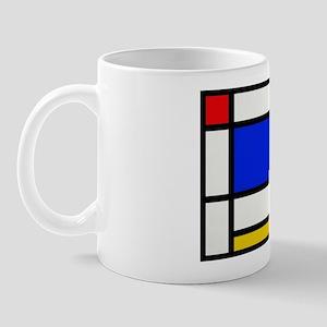 Mondrian-2b Mug Mugs