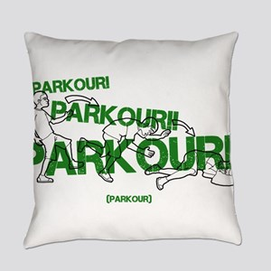 Realistic Parkour Style Everyday Pillow