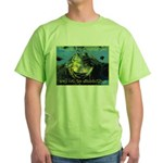 Froggies Have Rights Too Green T-Shirt