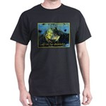 Froggies Have Rights Too Dark T-Shirt